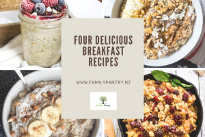 Four Wholesome & Delicious Breakfast Recipes