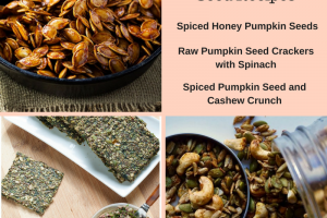 Three Delicious Pumpkin Seed Recipes (scroll down to see the other recipes)