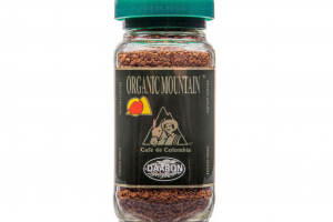 Organic Mountain Instant Arabica Coffee, 100g