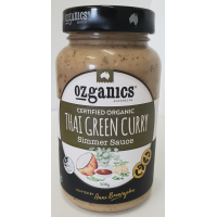 Organic Thai Green Curry Simmer Sauce, 500g