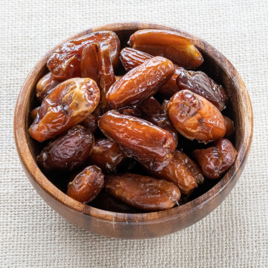Organic Dates whole dried, pitted, raw