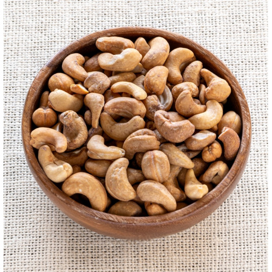 Organic Cashew Nuts (whole), roasted & salted