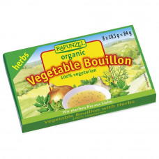 Rapunzel Vegetable Bouillon with Herbs, 84g