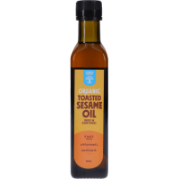 Chantal Organics Toasted Sesame Oil, 250ml