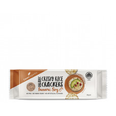 Ceres Organics Rice Crackers, Tamari Soy, 100g