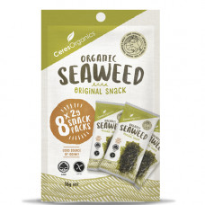 Ceres Organics Roasted Seaweed Snack Multipack, 8 x 2g