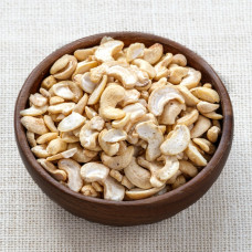 Organic Cashew Nuts, pieces