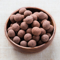 Spray-free Chocolate Coated Hazelnuts, whole - NZ Grown