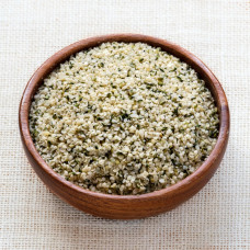 Spray-free Hemp Seed Hearts, hulled - NZ Grown