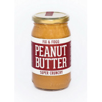 Fix and Fogg Super Crunchy Peanut Butter, 375g