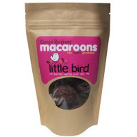 Little Bird Cacao & Raspberry Macaroons, 125g