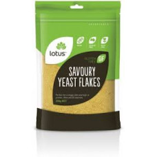 Lotus Savoury Yeast Flakes (Nutritional Yeast), 100g