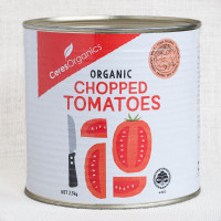 Ceres Organics Chopped Tomatoes, canned, 2.5kg