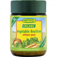 Rapunzel Vegetable Bouillon Broth Powder (Yeast Free), 160g